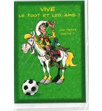 CARTE ENFANT FOOTBALL / LUCKY LUKE (26)