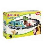 CIRCUIT LE TRAIN FUN DE MASHA - MASHA ET MICHKA - PLAYBIG BLOXX - 800057095