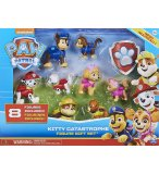 COFFRET 8 FIGURINES PAT PATROUILLE : MARCUS CHASE STELLA RUBEN - CHIOTS ET CHATONS - SPIN MASTER 20126437