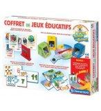 COFFRET DE JEUX EDUCATIFS - TEDDY LE GENIE - CLEMENTONI - 62194
