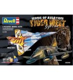 COFFRET ICONS OF AVIATION : TIGER MEET - MAQUETTE MIRAGE 2000 + RF-4E PHANTOM - ECHELLE 1/72 - REVELL - 05709