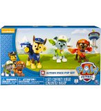 COFFRET PAT PATROUILLE 3 CHIENS TRANSFORMABLE : ZUMA ROCKY ET CHASE -  FIGURINE - PAW PATROL SPIN MASTER