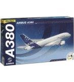 COFFRET PRESTIGE MAQUETTE AVION AIRBUS A380 - ECHELLE 1/125 - HELLER - 52904