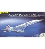 COFFRET PRESTIGE MAQUETTE AVION CONCORDE - ECHELLE 1/72 - HELLER - 52903