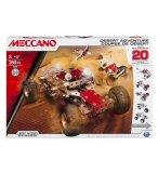 COURSE DU DESERT 20 MODELES - MECCANO - 15206 - JEU CONSTRUCTION