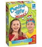 DEVINE TETE MIMES - MEGABLEU - 678081 - JEU DE SOCIETE