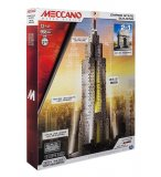 EMPIRE STATE BUILDING LUMINEUX 2 EN 1 - MECCANO - 15306 - JEU CONSTRUCTION