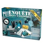 ENQUETE POLICE SCIENTIFIQUE - KIT DE JEU SCIENTIFIQUE