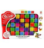 ENSEMBLE 35 BLOCS DE CONSTRUCTION A PICOTS - JEU CONSTRUCTION