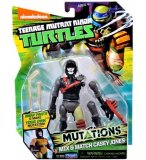 FIGURINE CASEY JONES 12 CM + ACCESSOIRES - LES TORTUES MUTANTS - TMNT - TURTLES