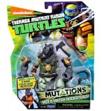 FIGURINE ROCKSTEADY 12 CM + ACCESSOIRES - LES TORTUES MUTANTS - TMNT - TURTLES