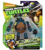 FIGURINE SLASH 12 CM + ACCESSOIRES - LES TORTUES MUTANTS - TMNT - TURTLES