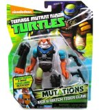 FIGURINE TIGER CLAW 12 CM + ACCESSOIRES - LES TORTUES MUTANTS - TMNT - TURTLES