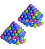 FILET DE 200 BALLES MULTICOLORES EN PLASTIQUE - KNORRTOYS - 56778