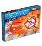 GEOMAG COLOR - 64 PIECES - JEU DE CONSTRUCTION MAGNETIQUE