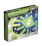 GEOMAG GLOW PHOSPORESCENT 30 PIECES - JEU DE CONSTRUCTION MAGNETIQUE - 335