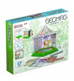 GEOMAG WORLD MY HOUSE 87 PIECES - JEU DE CONSTRUCTION MAGNETIQUE - 380