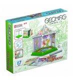 GEOMAG WORLD MY HOUSE 87 PIECES - JEU DE CONSTRUCTION MAGNETIQUE - 380