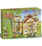 GRAND HOTEL MAXIMILIAN FAMILIES 296 PIECES - UNICO PLUS - 8926 - JEU DE CONSTRUCTION