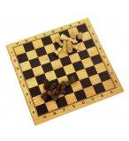 JEU D'ECHECS EN BOIS 29 x 29 CM - LONGFIELD GAMES - JEU DE STRATEGIE