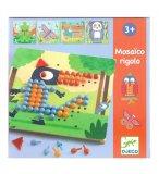 JEU DE MOSAÏQUE MOSAICO RIGOLO - DJECO - DJ08136