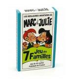 JEU DES 7 FAMILLES MARC ET JULIE LES MEILLEURES AVENTURES - FRANCE CARTES