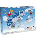 KIT CREATIF WINDOW COLOR MONDE PAILLETE - PEINTURE FENETRE - KREUL