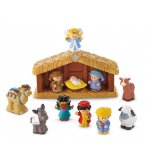LA CRECHE DE NOEL LITTLE PEOPLE - FISHER PRICE - J4506
