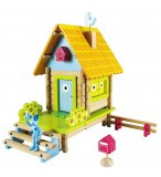 LA MAISON JOLIEVILLE - HOUSE OF TOYS - 420752 - JEU DE CONSTRUCTION EN BOIS