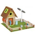 LA MAISON NATURE - HOUSE OF TOYS - 420757 - CHALET - JEU DE CONSTRUCTION EN BOIS