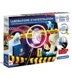 LABORATOIRE D'INVESTIGATION - SCIENCE & JEU - CLEMENTONI - 52399 - POLICE SCIENTIFIQUE