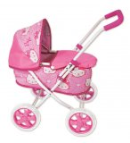 LANDAU ROSE MOTIFS HELLO KITTY POUR POUPEE / POUPON