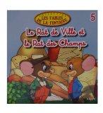 LE RAT DE VILLE ET LE RAT DES CHAMPS - LIVRE - ALTAYA - COLLECTION DES FABLES DE LA FONTAINE