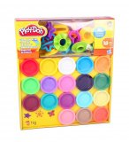 LE SUPER KIT DE COULEURS - PLAY DOH - A4897 - PATE A MODELER - HASBRO