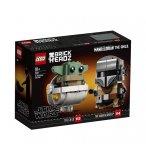 LEGO BRICKHEADZ STAR WARS 75317 LE MANDALORIEN ET L'ENFANT