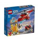 LEGO CITY 60281 L'HELICOPTERE DE SECOURS DES POMPIERS