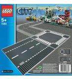 LEGO CITY 7280 PLAQUES DE ROUTE - LIGNE DROITE ET CARREFOUR