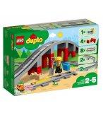 LEGO DUPLO 10872 LES RAILS ET LE PONT DU TRAIN