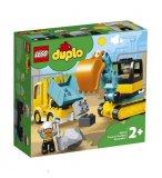 LEGO DUPLO 10931 LE CAMION ET LA PELLETEUSE