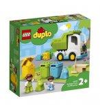 LEGO DUPLO 10945 LE CAMION POUBELLE ET LE TRI SELECTIF