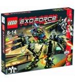 LEGO EXO FORCE 7713 BRIDGE WALKER VS WHITE LIGHTNING