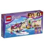LEGO FRIENDS 41316 LE TRANSPORTEUR DE HORS-BORD D'ANDREA