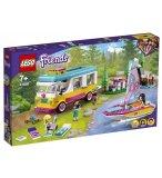 LEGO FRIENDS 41681 LE CAMPING-CAR ET LE VOILIER DE LA FORET