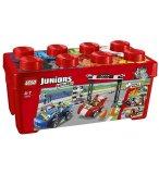 LEGO JUNIORS 10673 GRANDE BOITE DU RALLYE AUTOMOBILE