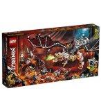 LEGO NINJAGO 71721 LE DRAGON DU SORCIER AU CRANE