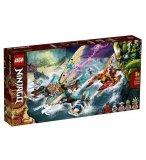 LEGO NINJAGO 71748 LA BATAILLE DE CATAMARANS