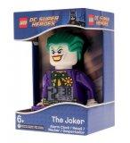 LEGO SUPER HEROES REVEIL FIGURINE LE JOKER - HORLOGE LEGO