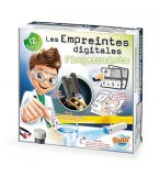 LES EMPREINTES DIGITALES - ENQUETES POLICE - BUKI SCIENCES - 7101