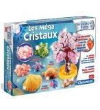 LES MEGA CRISTAUX - SCIENCE & JEU - CLEMENTONI - 62004 - MINERALOGIE