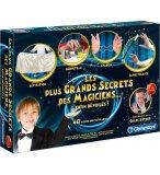 LES PLUS GRANDS SECRETS DES MAGICIENS 40 TOURS - JEU DE MAGIE - CLEMENTONI - 62508
